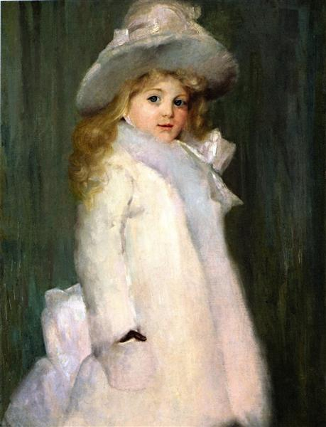Lily Sterling, 1890 - Tom Roberts