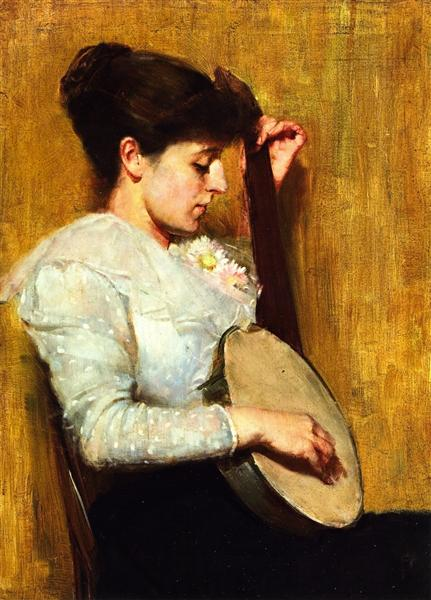 Plink-a-Plong, 1893 - Том Робертс