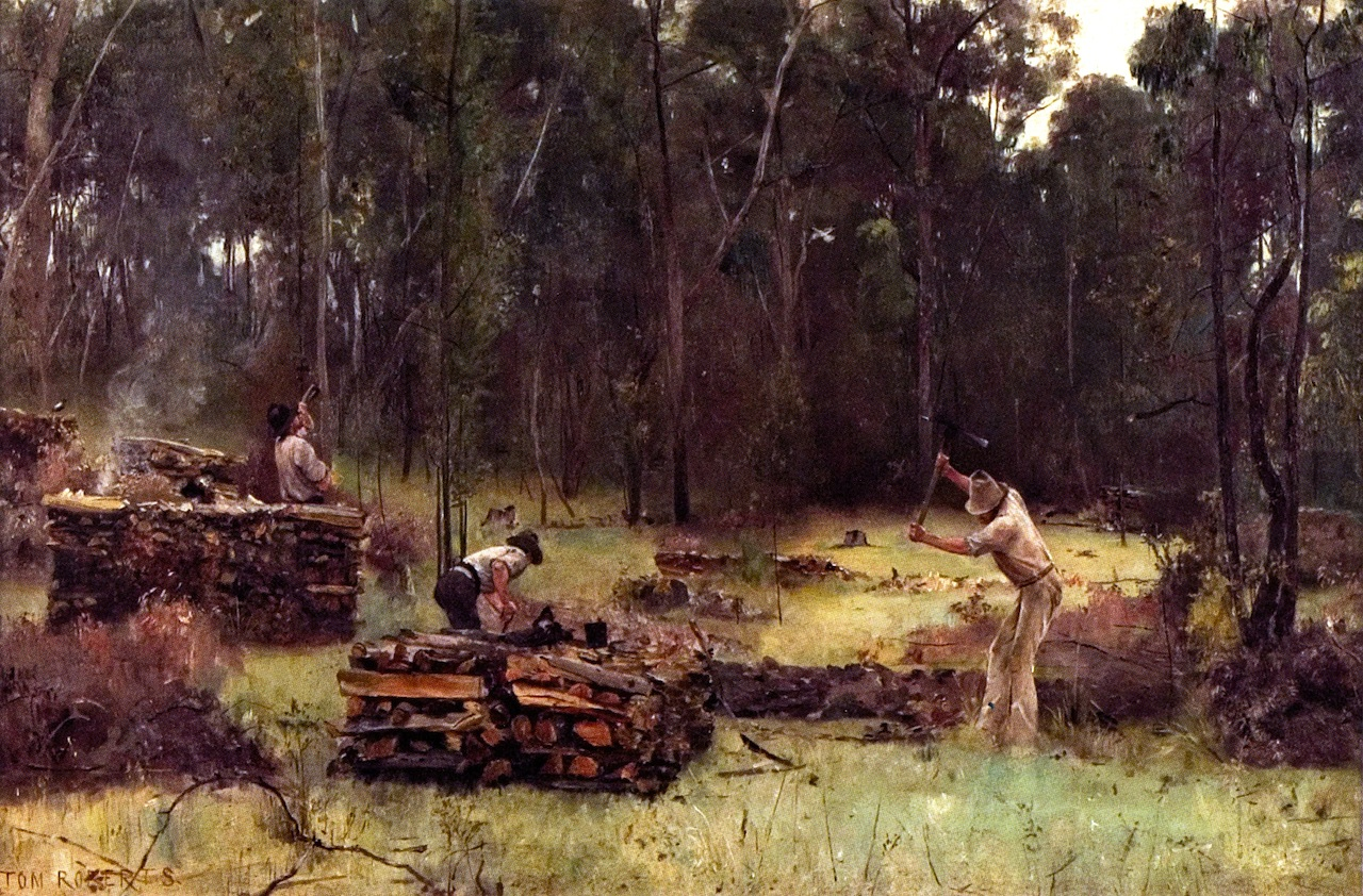 Wood Splitters, 1886
