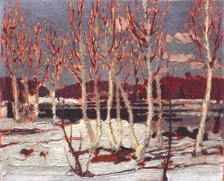 April in Algonquin Park, 1917 - Tom Thomson