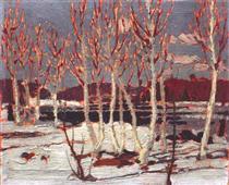 April in Algonquin Park - Tom Thomson