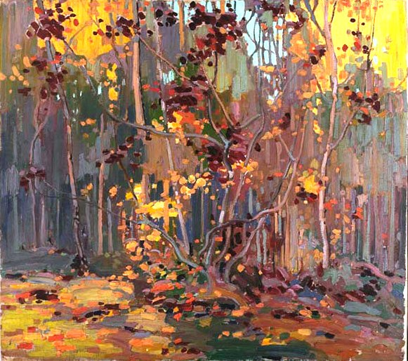Maple Saplings, 1917 - Tom Thomson