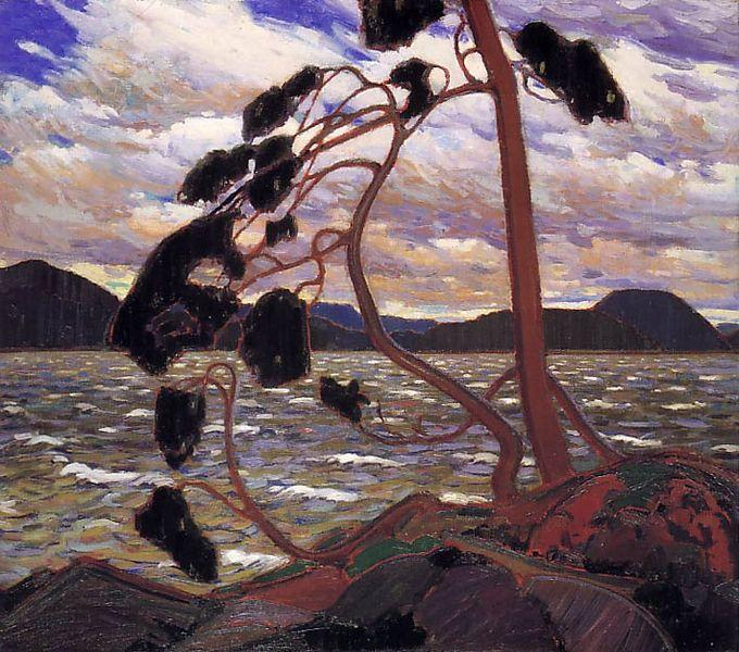 The West Wind, 1917 - Tom Thomson