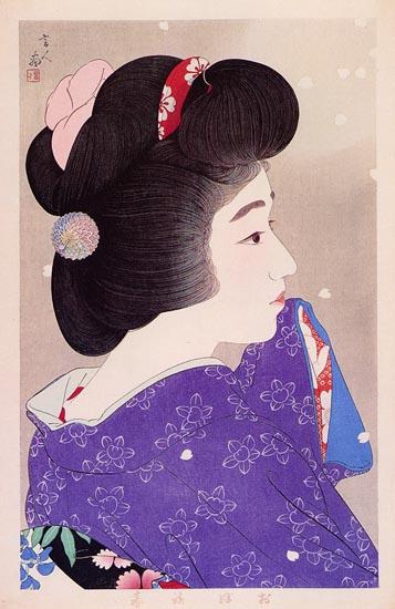 Misty Spring, 1933 - Torii Kotondo