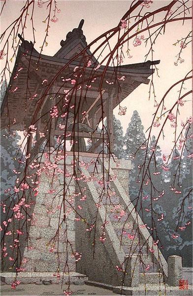 Heirinji Temple Bell, 1951 - Toshi Yoshida