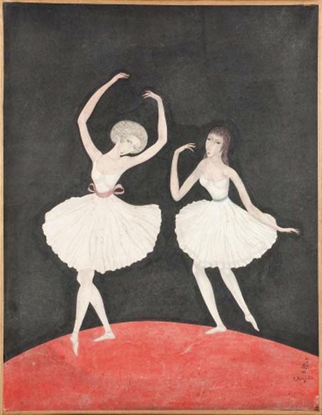 Dancers - Tsuguharu Foujita