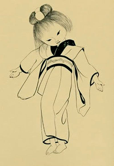 Japanese Doll - Tsuguharu Foujita