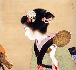 Coiffure (Oshidori-mage), 1935 - Uemura Shoen