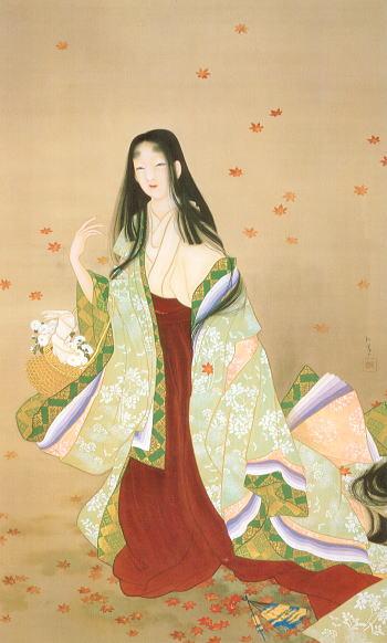 Flower Basket, 1915 - Uemura Shōen