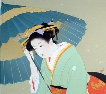 Snow, 1939 - Uemura Shoen