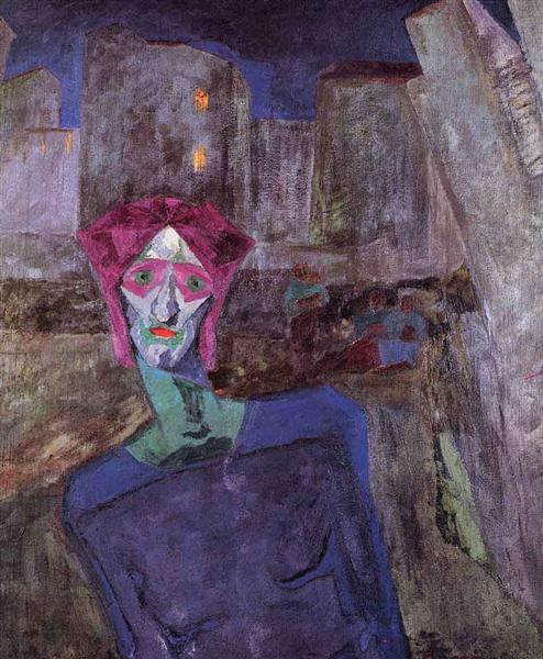 Nocturne, 1911 - Umberto Boccioni
