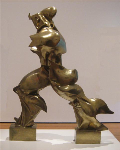Unique Forms of Continuity in Space - Umberto Boccioni