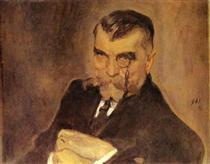 Portrait of Alexei Stakhovich - Valentin Serov