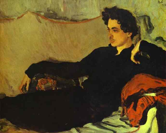 Portrait of Nikolay Pozniakov, 1908 - Valentin Serov