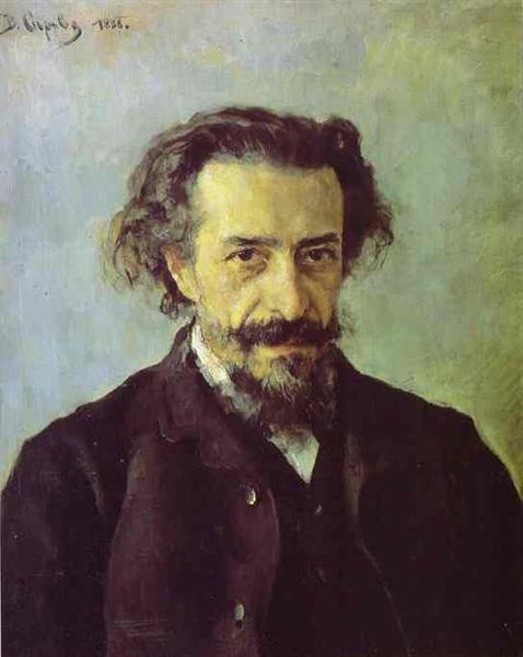 Portrait of Pavel Blaramberg, 1888 - Valentin Serov