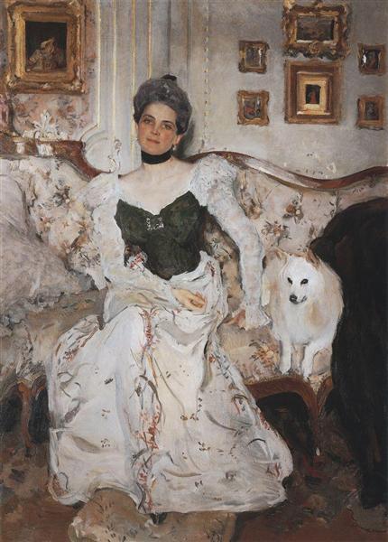 Portrait of Princess Zinaida Yusupova, 1902 - Valentin Serov