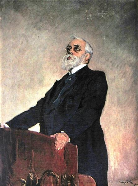 Portrait of Sergey Muromtsev, 1910 - Valentin Serov