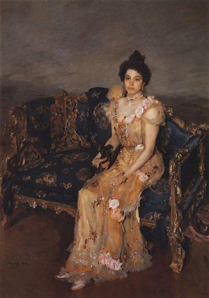 Portrait of Sofia Mikhailovna Botkina, 1899 - Valentin Serov