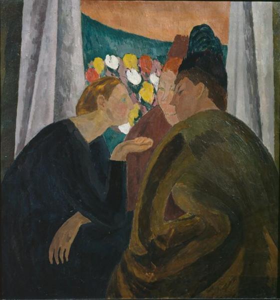 Conversation, 1916 - Vanessa Bell