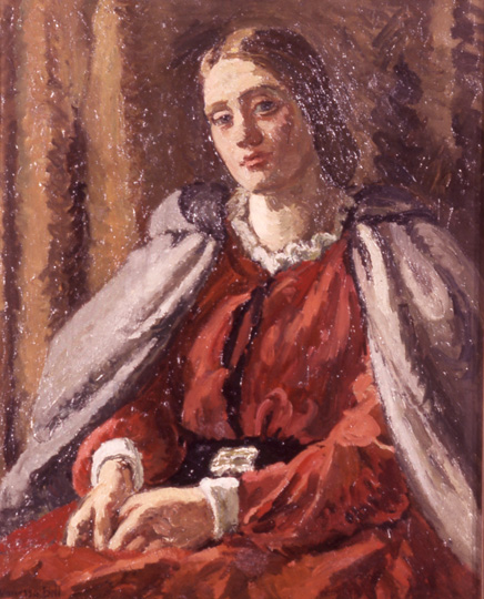 The Red Dress, 1929 - Vanessa Bell