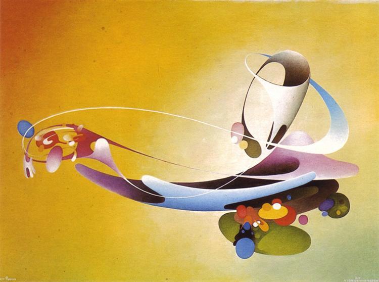 Horizontal Galaxy, 1980 - Vangel Naumovski