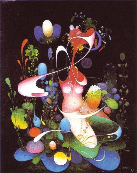 Lacustrine Galaxy, 1977 - Vangel Naumovski