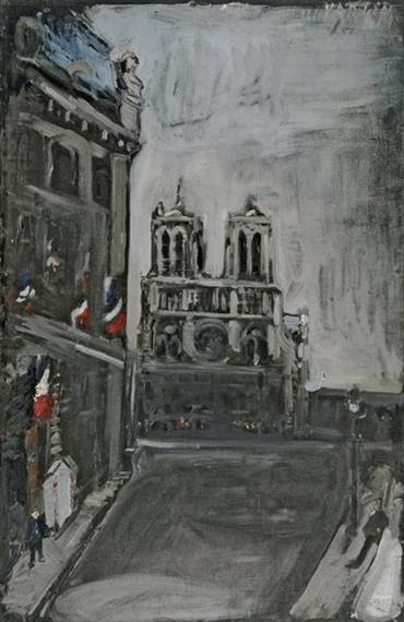 Notre-Dame in Paris - Varlin
