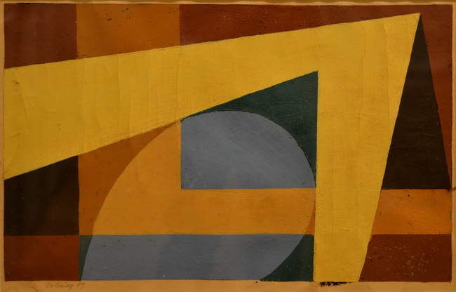 Composition, 1989 - Vasile Dobrian