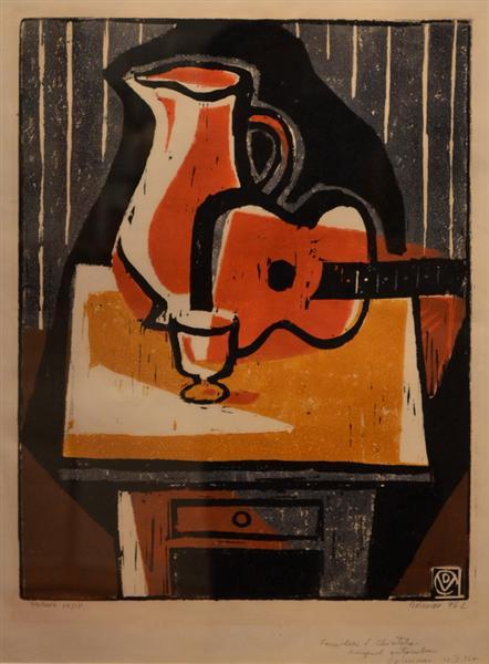 Red Guitar, 1982 - Василь Добриан