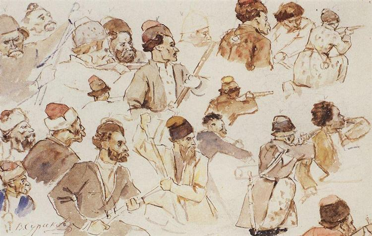 Cossacks, 1891 - Vasily Surikov
