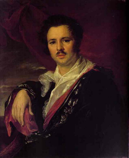 Maikov Nicholas Apollonovich, 1821 - Vasily Tropinin