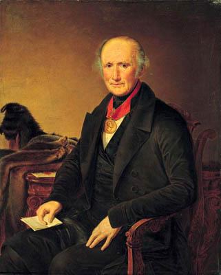 Portrait of a P.I. Sorokoumovskogo - Vasily Tropinin