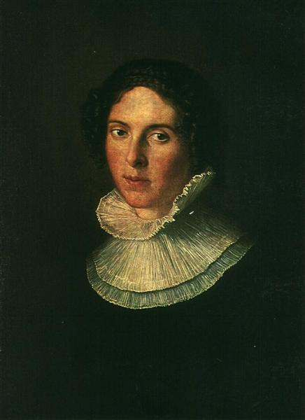Portrait of Elizabeth Ivanovna Naryshkina - Vasily Tropinin