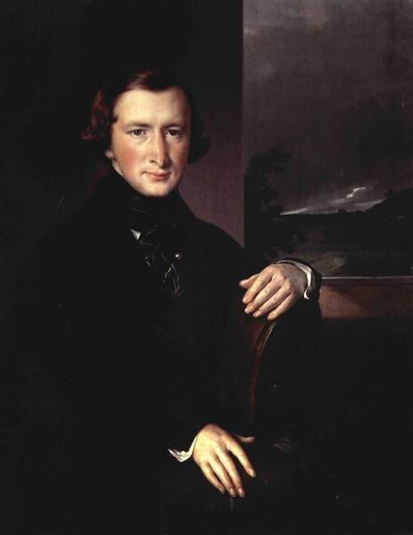 Portrait of Yuri Fyodorovich Samarin, 1844 - Vasily Tropinin
