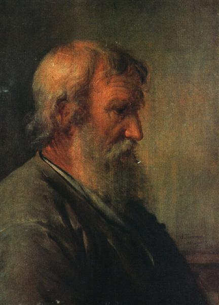 The old man farmer, 1825 - Vasily Tropinin