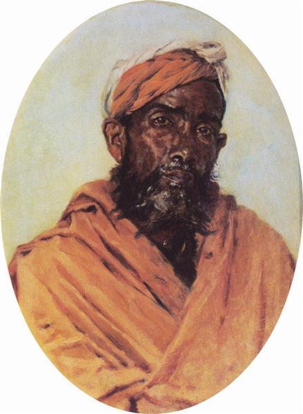 Moslem Servant, 1882 - 1883 - Vasily Vereshchagin