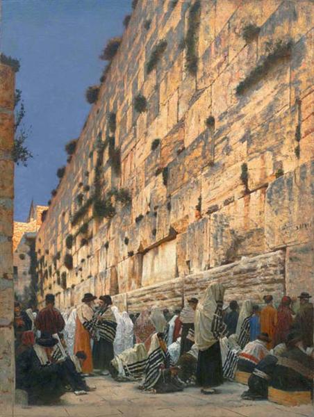 Solomon's Wall, 1884 - 1885 - Vasily Vereshchagin