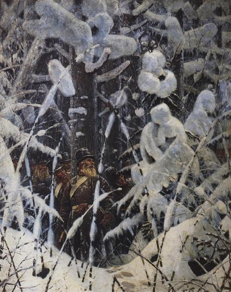 Wait. Let them come nearer, 1887 - 1895 - Vasily Vereshchagin