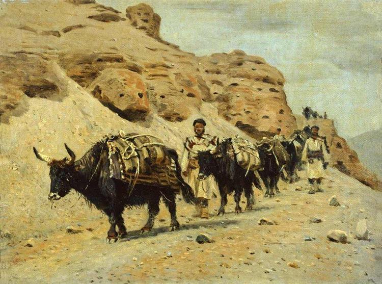 Yaqui, 1875 - Vasili Vereshchaguin