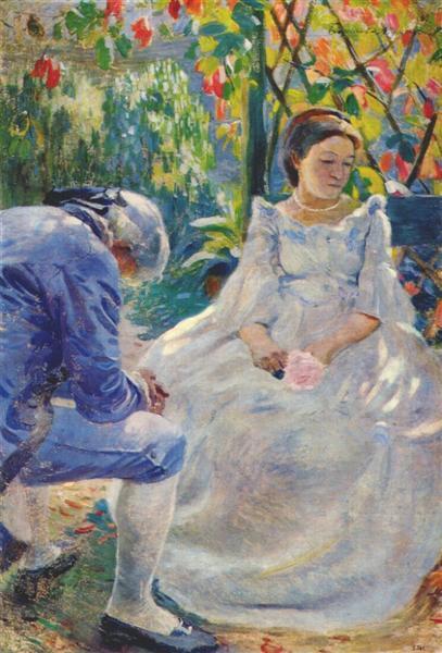 Autumn Mood, 1899 - Victor Borisov-Musatov