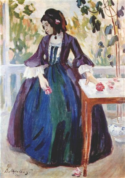 Autumn Mood, 1901 - Victor Borisov-Musatov