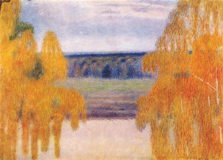 Autumn Song, 1905 - Victor Borisov-Musatov
