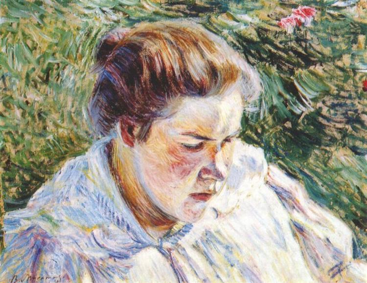Girl in the Sunlight, 1897 - Victor Borisov-Musatov