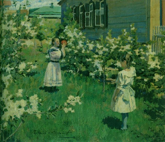 May Flowers, 1894 - Victor Borisov-Musatov
