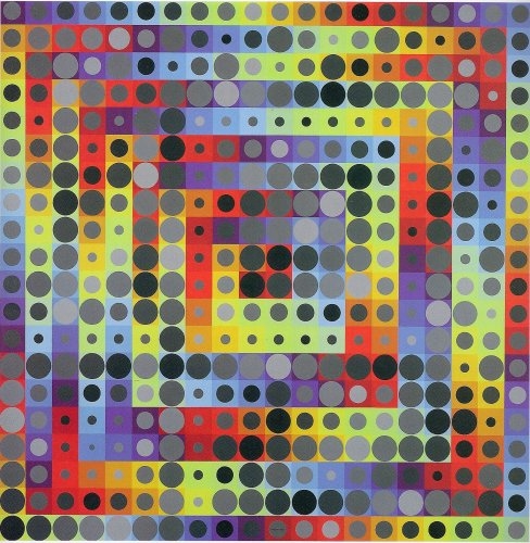 Orion Gris, 1969 - Victor Vasarely