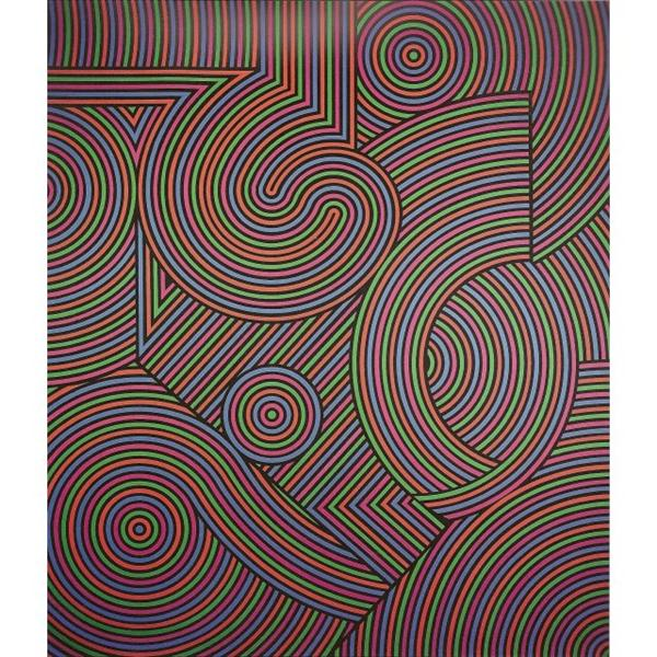 Tekers-MC, 1981 - Victor Vasarely