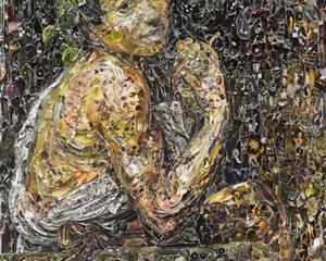 Sick Bacchus, after Caravaggio (Pictures of Magazine 2) - Vik Muniz