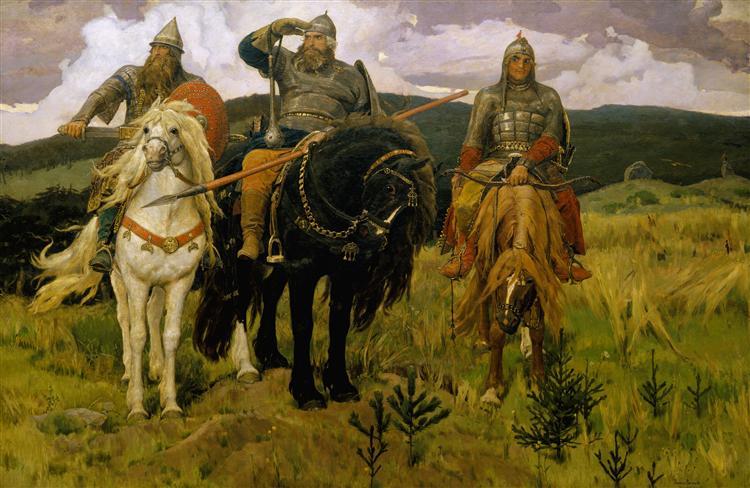 Bogatyrs, 1881 - Viktor Vasnetsov