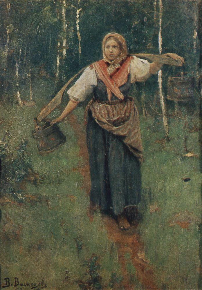 Viktor Vasnecov - Page 2 For-water-1880