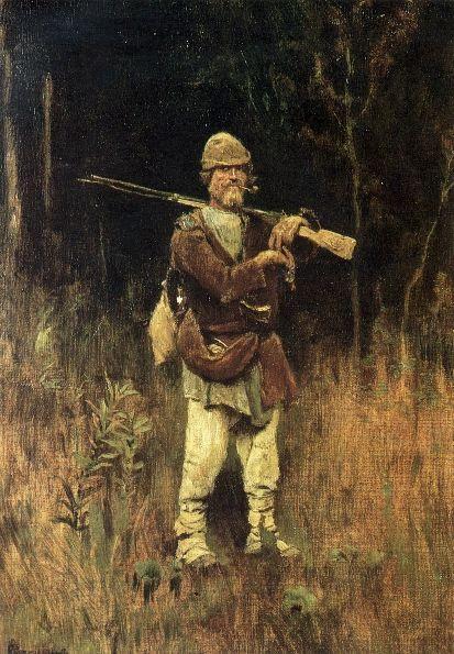 Headed Duck hunter, 1889 - Viktor Vasnetsov